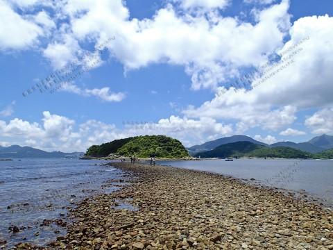 連島沙堤 Tombolo
